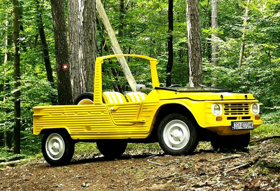 U Reklam PLAST-u izrađen Citroën Méhari